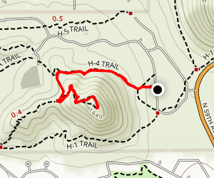 Sunrise Summit Map