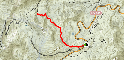 Galena Falls Trail Map