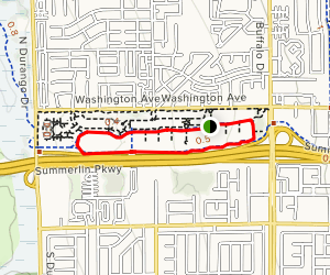 Charlie Kellogg and Joe Zaher Sports Complex Loop Map