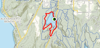 Heart Lake Loop Map