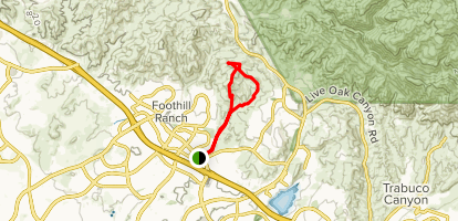 Dreaded Hill and Whiting Road Loop Map