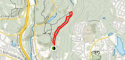 Hancock Brook Trail Map