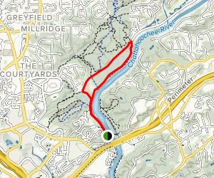 Chattahoochee River Loop Map