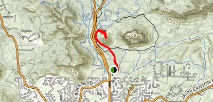 Bell Rock Pathway to Bell Rock Map