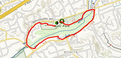Sweetwater Park Trail Map