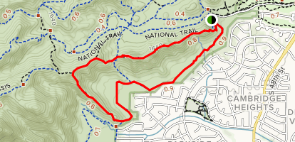 Desert Classic and Marcos de Niza Loop Map