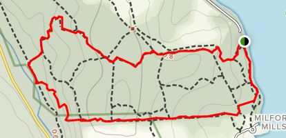 Marsh Creek Loop Map
