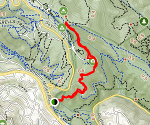 Graham Trail Map