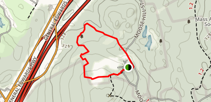 Old Summit Road Trail Map