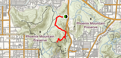 Trail 101 to North Mountain National Trail Map