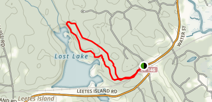 West Woods Loop Trail Map