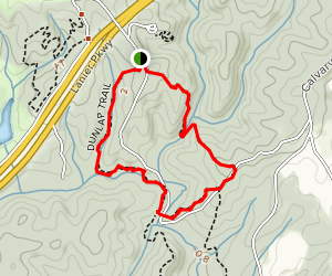 Dunlap Trail Map