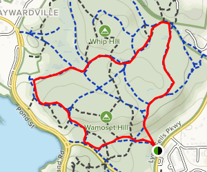 Crystal Springs Path Map