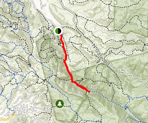 Castle Rock Stage Road Trail Map