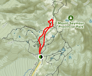 Brockton Peak Map