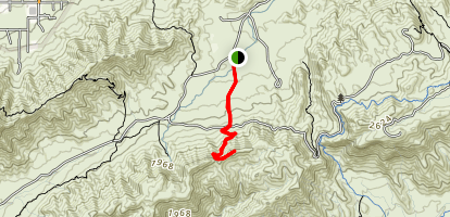 ranger trail from south central map