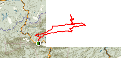 Rim of the Gap Trail to Jones Gap Trail Map