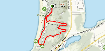 Petoskey State Park Loop Map