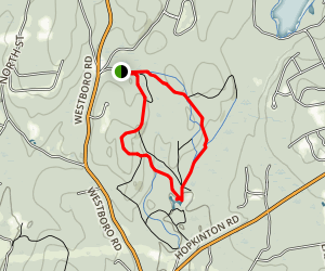 Upton State Forest Loop Map