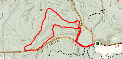 Riding Run Trail Map