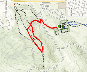 Rice Ranch Dog Park Orcutt Hill Loop Map