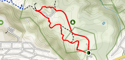 Milagra Ridge Trail Loop Map