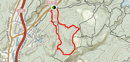 Reeve's Brook and 7 Hills Trail Loop Map