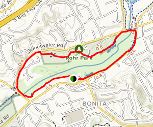 Sweetwater Park Trail Loop Map