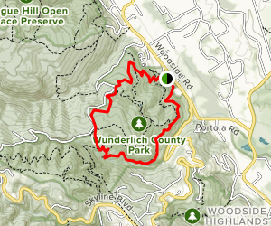 Bear Gulch and Alambique Trail Map