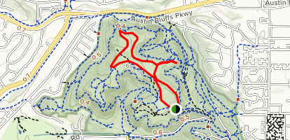 Yucca and Mesa Trail Loop Map