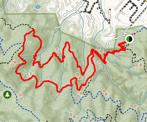 Buena Vista, New Almaden, and Randol Trail Map
