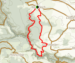 Rotenbach River Loop Trail Map