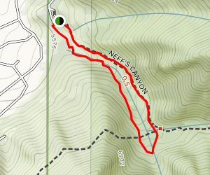 Neff's Canyon Loop Map