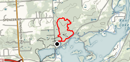 Fox Trail and Chicadee Loop Map