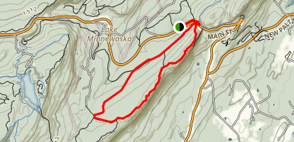 Millbrook Ridge, Coxing and Trapps Trail Loop Map