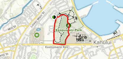 Keopuolani Park Loop Map