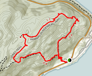 Timp-Torne Trail and Dunderberg Spiral Railway and Loop Map