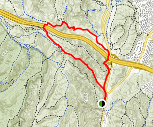 Laurel Canyon and Stagecoach Loop Map
