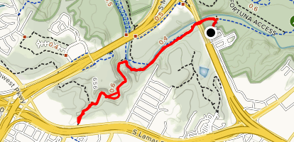 Barton Creek Greenbelt & Violet CrownTrail Map