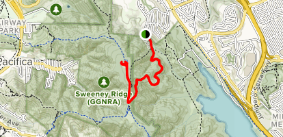 Sweeney Ridge Map