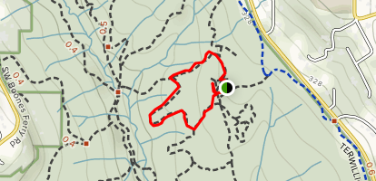 Maple Ridge Trail Map