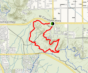 Ocotillo Trail Map