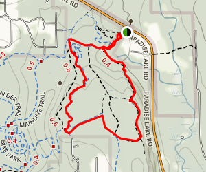 Woodland Plateau Trail to Lloyd Trail Loop Map