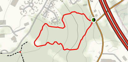 Franklin Forest Loop Map