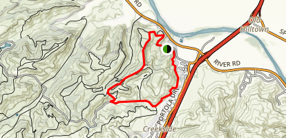 Trail 30, Engineer Road, Oil Well Road, and Trail 101 Loop Map
