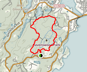 Ravenswood Outer Loop Map