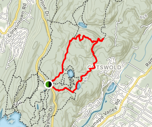 Schuber, Millstone, Yellow and Todd Trail Loop Map