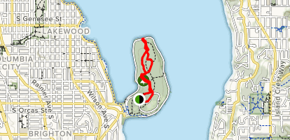Seward Park Loop Map