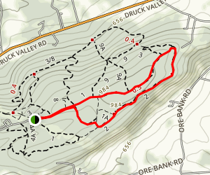 Rocky Ridge Trail 2 Loop Map