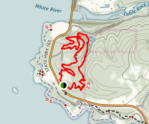 White River Valley Red Trail Map